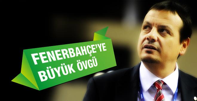 Ergin Ataman Fenerbahçe'yi göklere çıkardı!