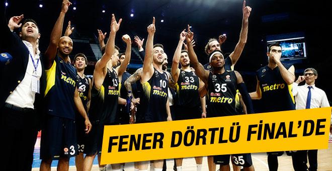 Fenerbahçe Dörtlü Final'e yükseldi