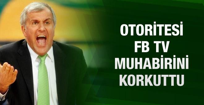 Obradovic'i gören FB TV spikerinin hali