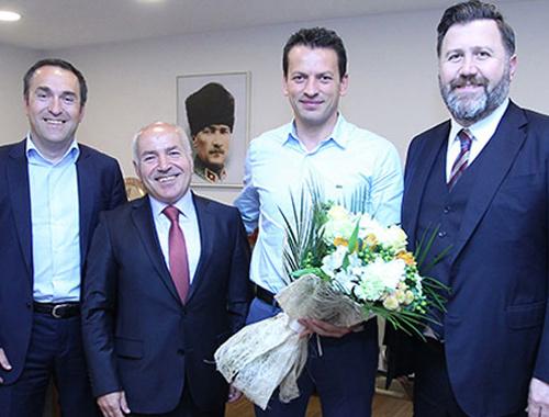 Trabzonspor'dan dayak yiyen hakeme ziyaret