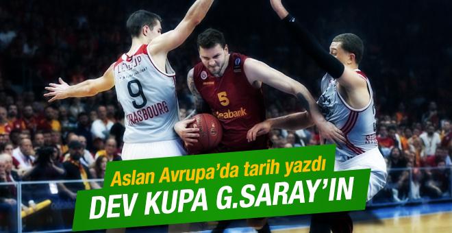 Galatasaray Odeabank Eurocup şampiyonu oldu