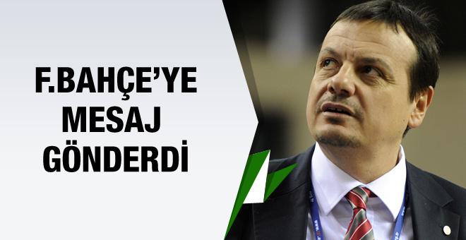 Ergin Ataman Fenerbahçe'ye mesaj gönderdi