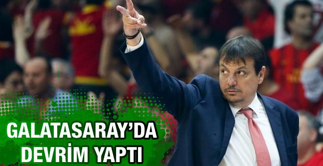 Galatasaray'da Ergin Ataman devrimi
