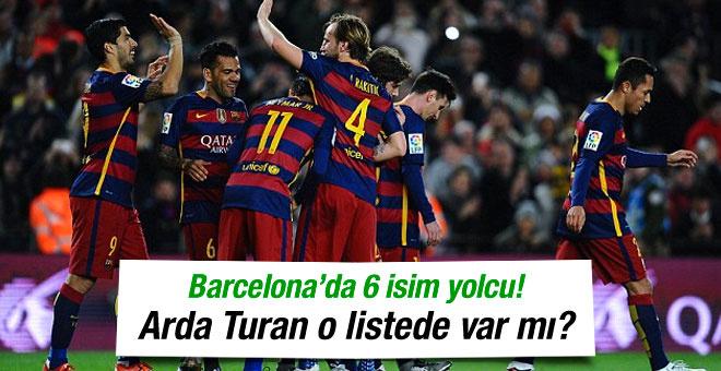 Barcelona 6 oyuncusunu gönderiyor! Arda Turan o listede mi?