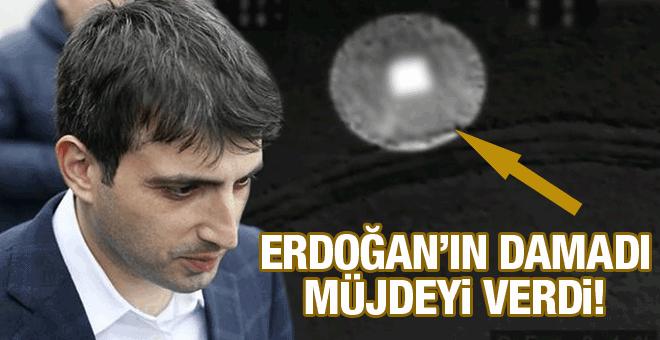 Erdoğan'ın damadı müjdeyi verdi! Geri sayım başladı