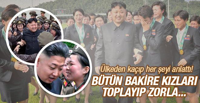 Kim Jong-Un'un seks skandalları bakire kızları toplayıp...