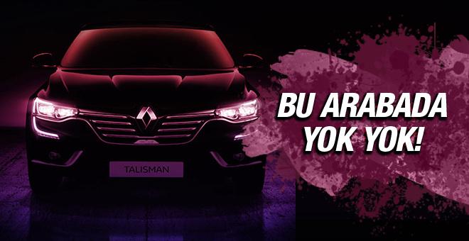 Renault'nun prestij sembolü Talisman'a bakın!