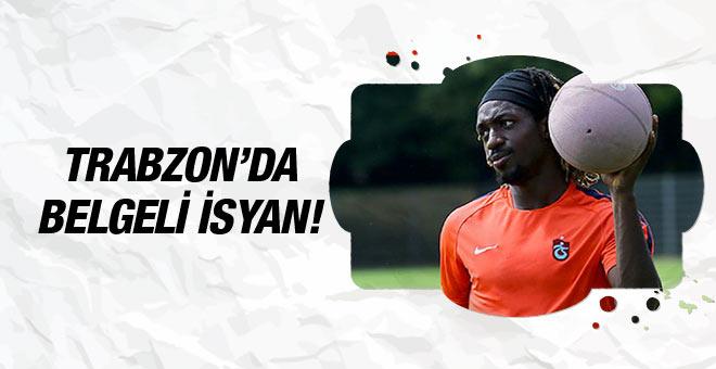 Cavanda Trabzonspor yönetimine isyan etti