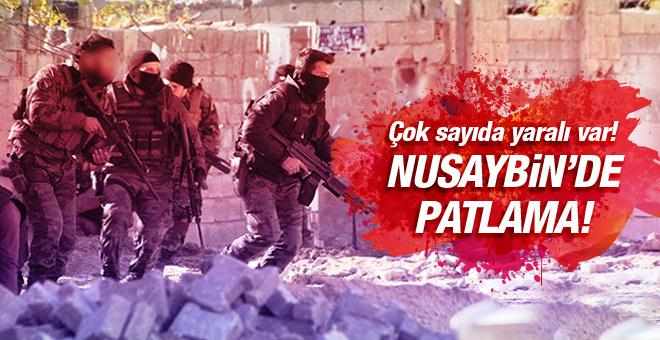Nusaybin'de patlama! Çok sayıda asker yaralı!