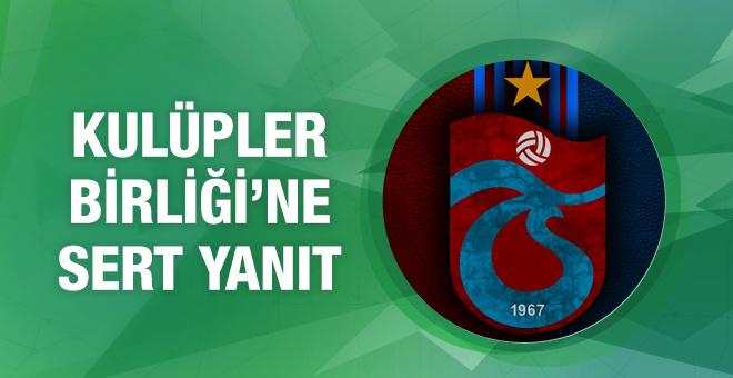 Trabzonspor'dan çok sert açıklama! İki dakika utan
