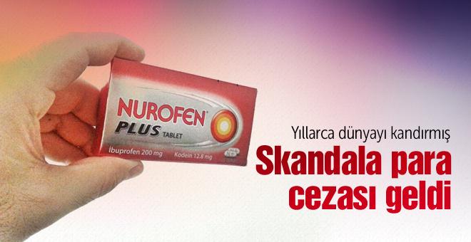 Nurofen skandalına tarihi para cezası!