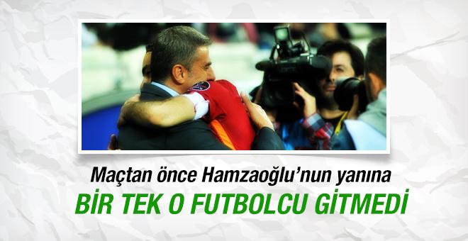 Hamza Hamzaoğlu'nun yanına bir tek O gitmedi