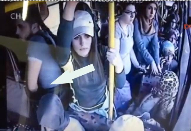 otobüste taciz ve seks