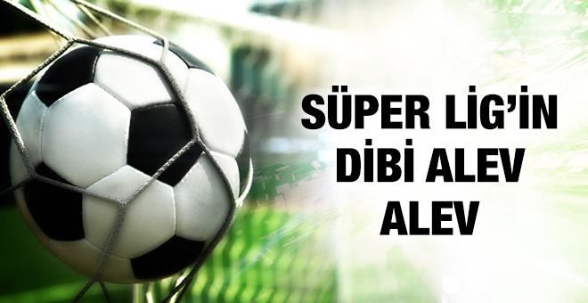 Süper Lig'in dibi alev alev