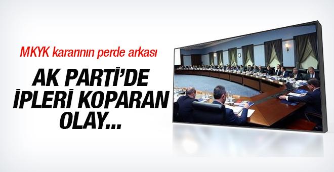İşte olaylı AK Parti MKYK kararının perde arkası!