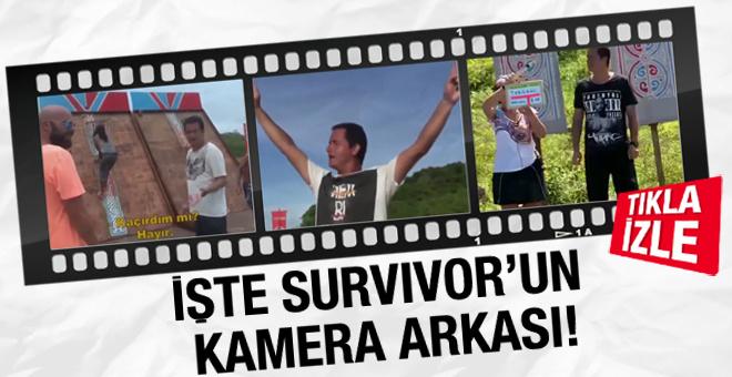 İşte Survivor'ın kamera arkası! Daha önce hiç görmediniz