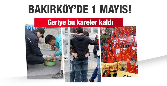 Bakırköy'de 1 Mayıs kutlamaları! geriye bu kareler kaldı