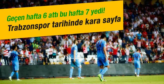 Antalyaspor Trabzonspor maçında gol patlaması