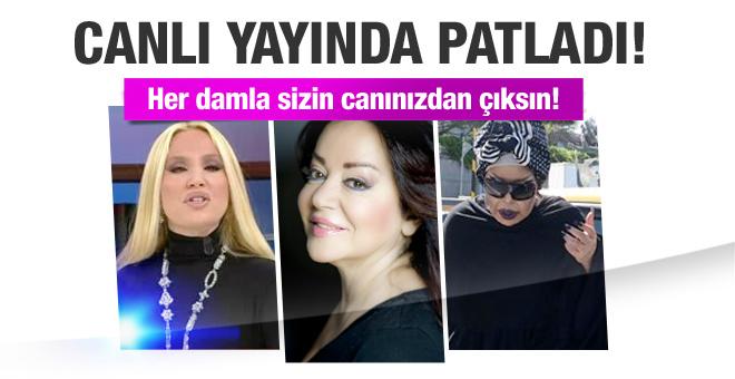 Lerzan Mutlu Bülent Ersoy'a canlı yayında fena patladı!