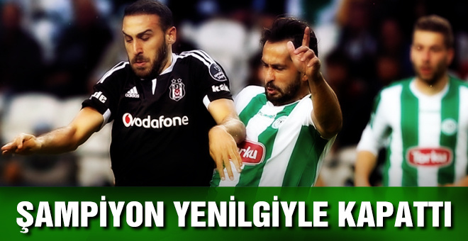 Beşiktaş Torku Konyaspor maçı sonucu ve özeti