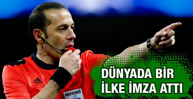 Cüneyt Çakır UEFA'da devrim yaptı
