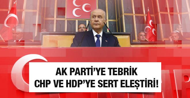 Devlet Bahçeli'de sert Yıldırım ve Kılıçdaroğlu açıklaması