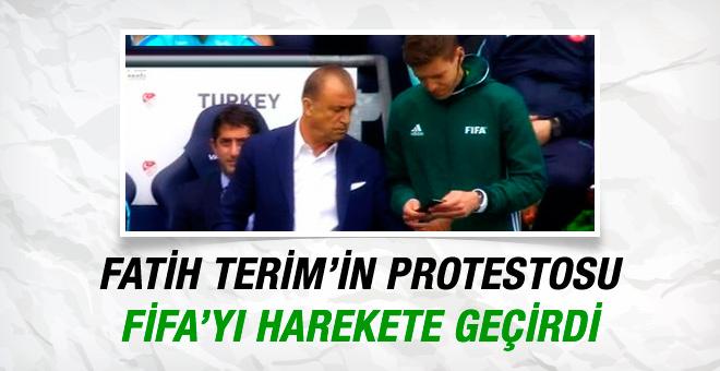 Fatih Terim'in protestosu FIFA'yı harekete geçirdi