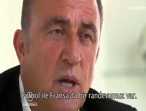 Fatih Terim Fransızca konuştu
