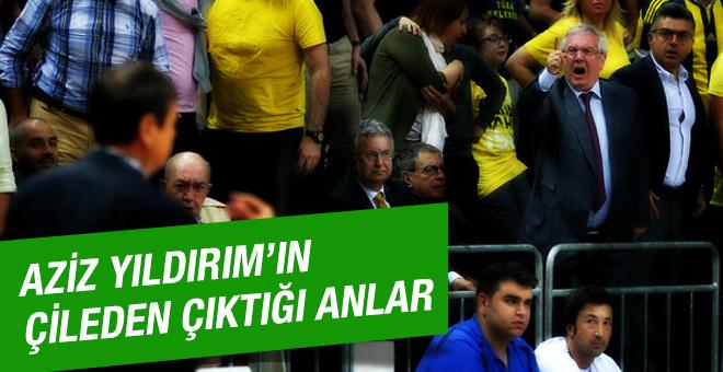 Aziz Yıldırım Ergin Ataman'a patladı