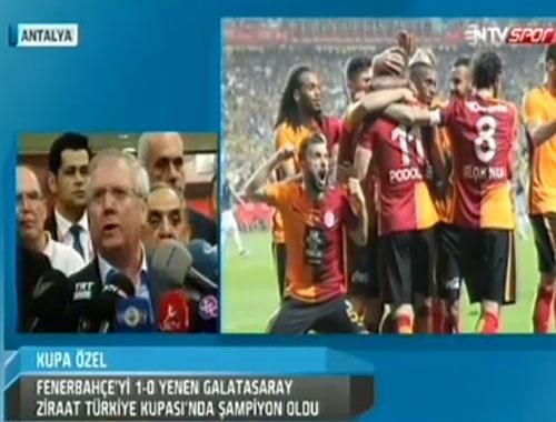 Aziz Yıldırım: Ben şike yapmadım ama Galatasaray hep şike yaptı