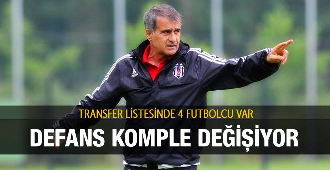 Beşiktaş'ın transfer listesi netleşti