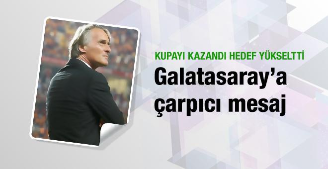 Riekerink Galatasaray'a mesaj gönderdi