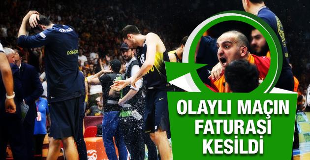 Galatasaray'a 2 maç ceza! Derbi seyircisiz!