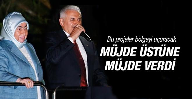 Yıldırım'dan İzmir'e müjde üstüne müjde