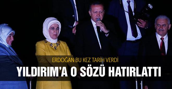 Cumhurbaşkanı Erdoğan köprü için söz aldı
