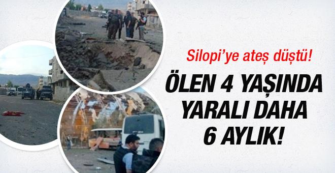 Silopi'deki hain saldırıdan ilk görüntüler geldi!
