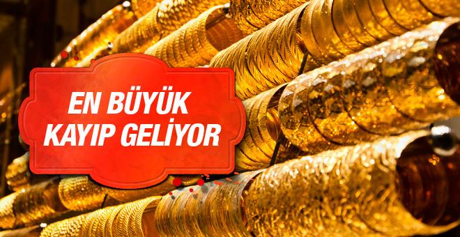 Altın fiyatları büyük kayıp kapıda 31.05.2016 çeyrek altın kaç lira?