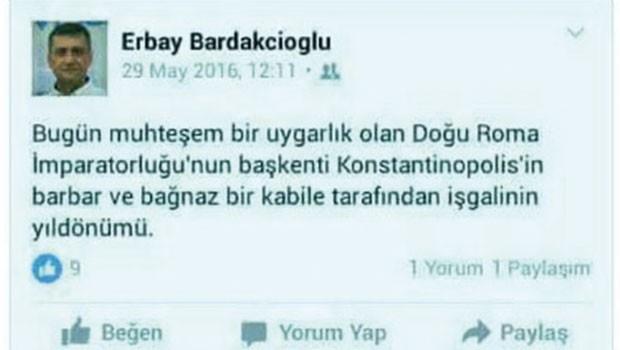 İstanbul'un fethini eleştiren profesöre şok!