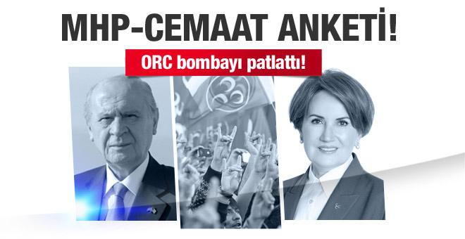 ORC Araştırma'dan olay MHP-Cemaat anketi!