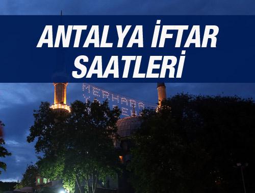 Antalya iftar vakti 2016 sahur saatleri ezan vakitleri