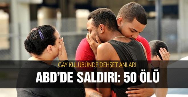 Eşcinsel kulüpte silahlı saldırı: 50 ölü, 53 yaralı
