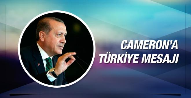Erdoğan'dan Cameron'a 3 bin yıl mesajı