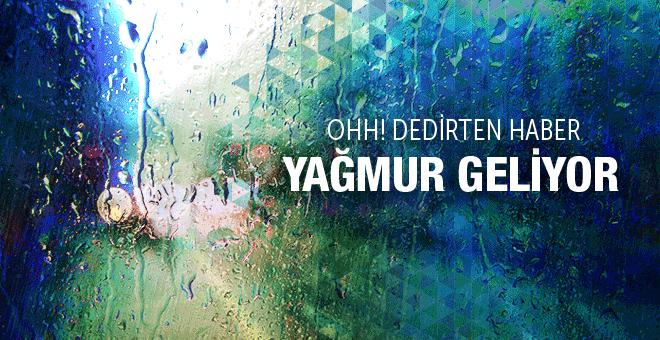 İstanbul hava durumu yarın sıcak ama pazartesi...