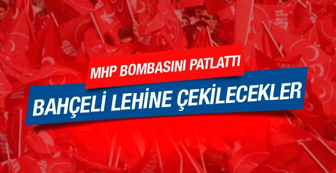 MHP'yi karıştıran iddia Bahçeli lehine çekilecekler!
