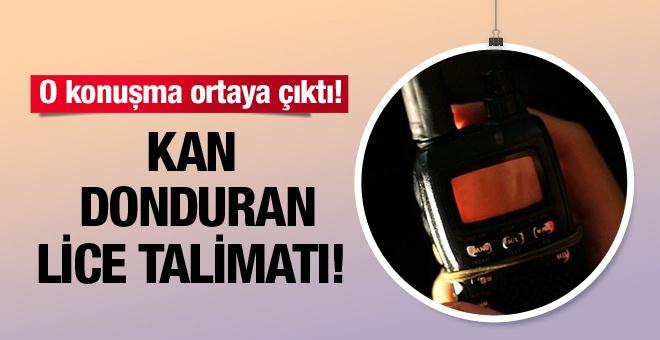 PKK'nın kan donduran Lice talimatı deşifre oldu!