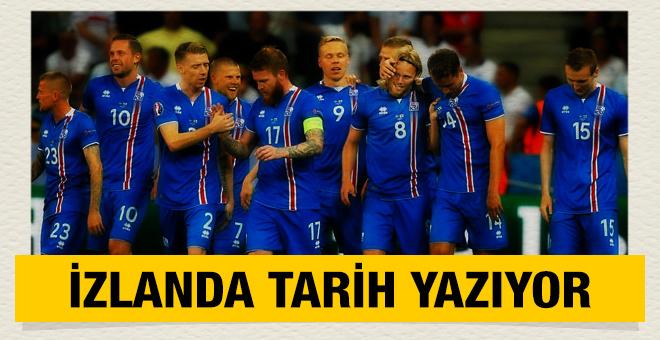 İzlanda tarih yazmaya devam ediyor