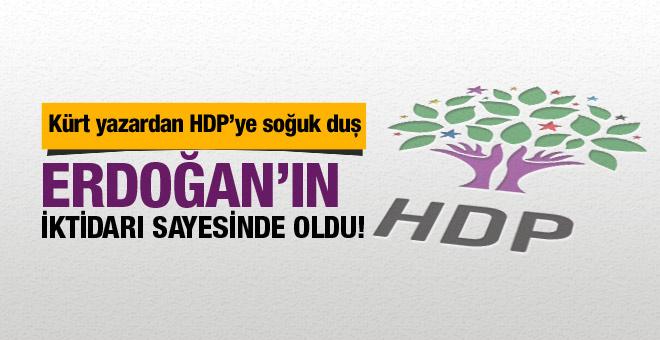 Kürt yazarın dokunulmazlık yazısı HDP'lileri öfkelendirecek!