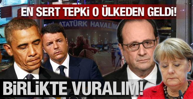 İstanbul'daki saldırıya en sert tepki veren ülke!