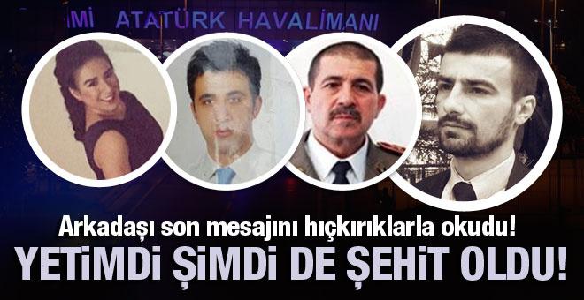 Türkiye evlatlarına ağlıyor! Yetimdi şimde de şehit oldu