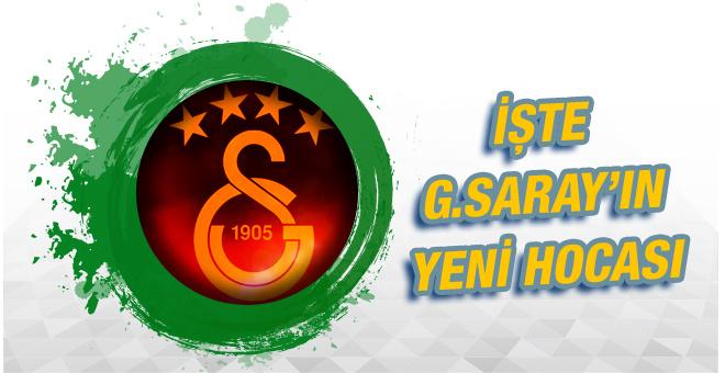 İşte Galatasaray'ın yeni teknik direktörü